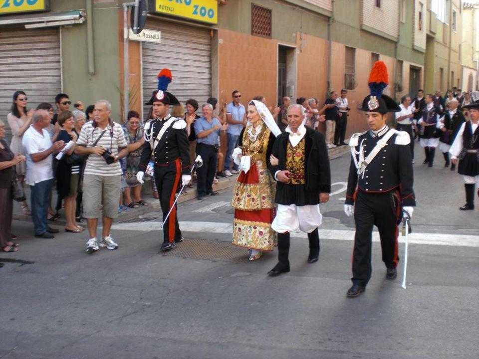 Domingo 8 de septiembre, desfile de la boda Selargina.