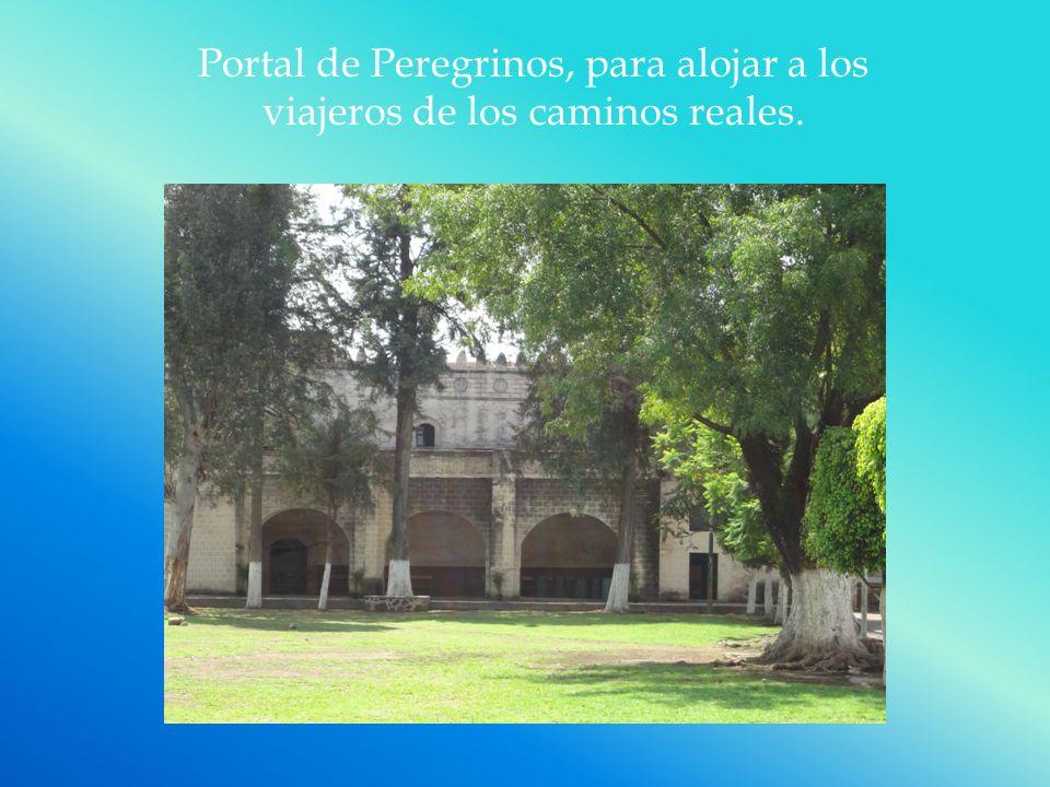 Portal de Peregrinos, para alojar a los viajeros de los caminos reales.