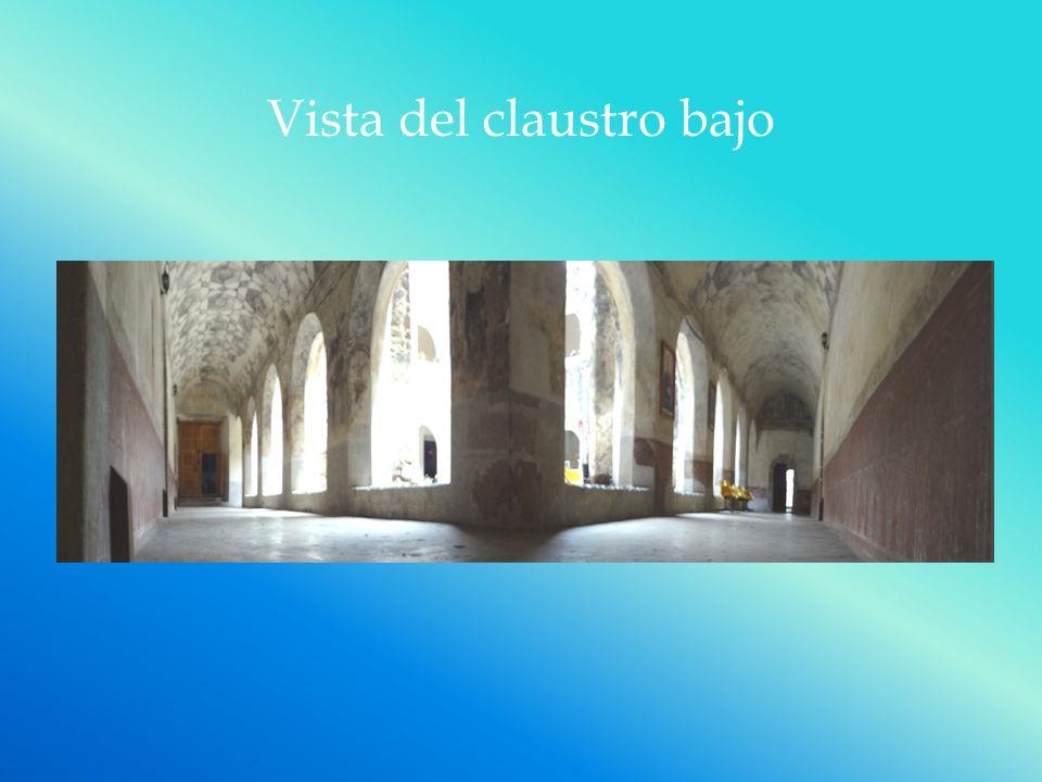 Vista del claustro bajo