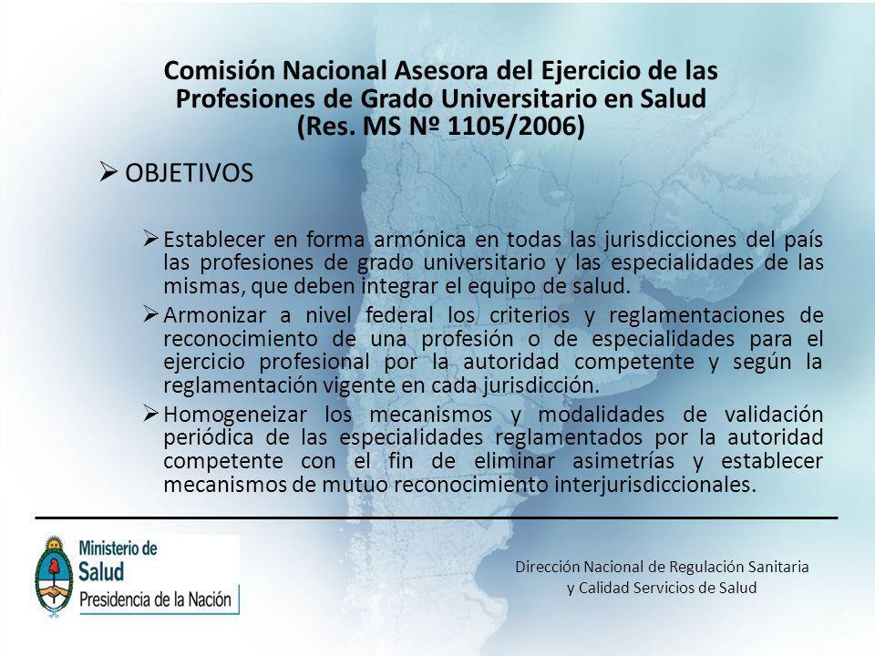 MARCO LEGAL DE ACREDITACION DE RESIDENCIAS B.O.