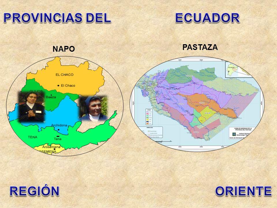 EL ORO MANABÍGUAYAS ESMERALDAS