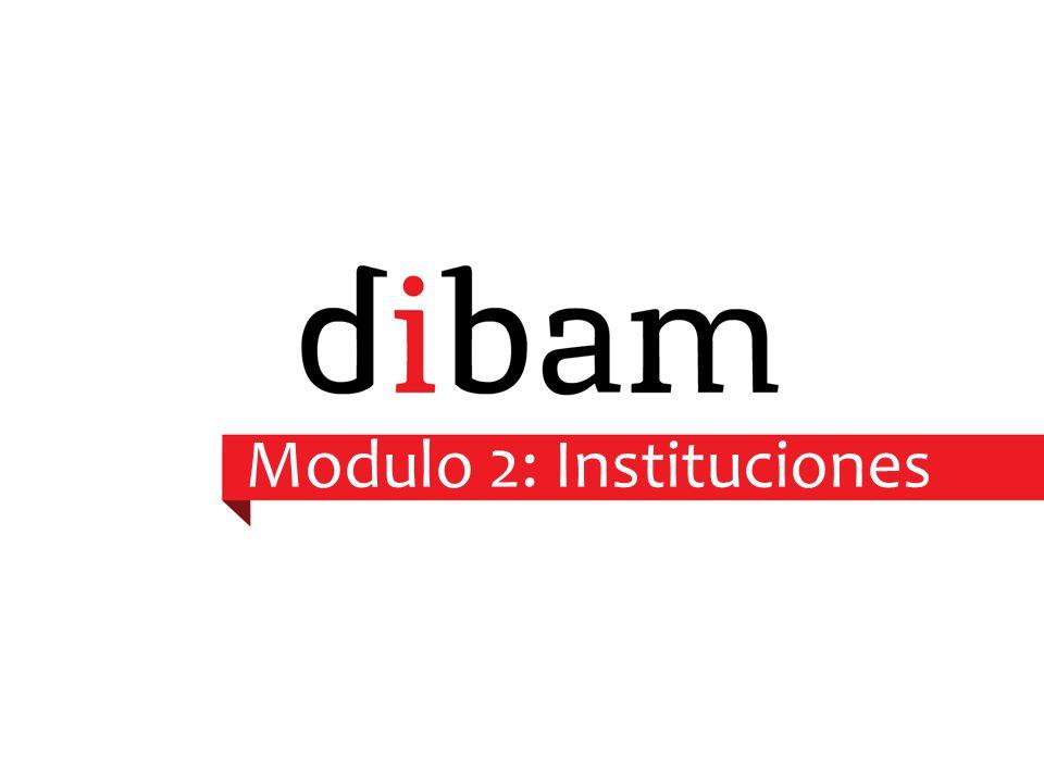 Modulo 2: Instituciones