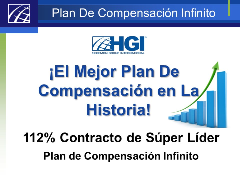 112% Contracto de Súper Líder Plan de Compensación Infinito ¡El Mejor Plan De Compensación en La Historia! Plan De Compensación Infinito