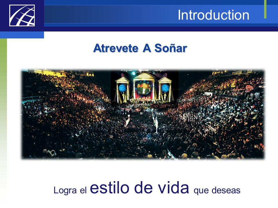 Introduction Atrevete A Soñar Logra el estilo de vida que deseas