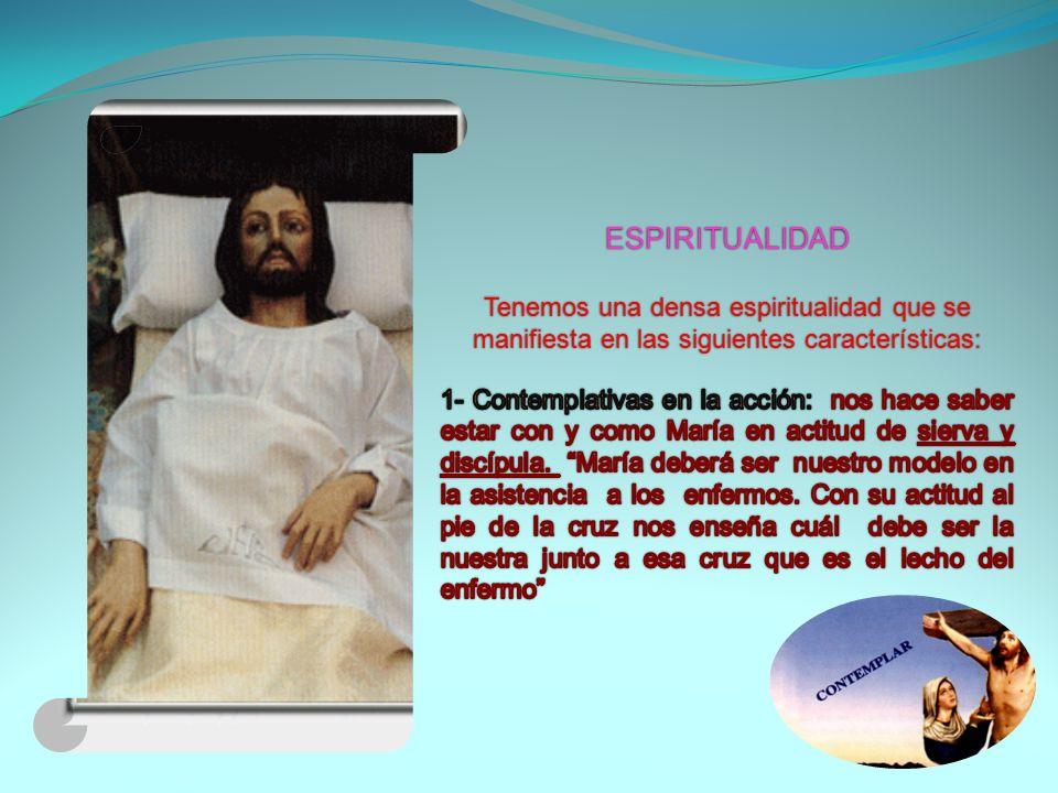 María Soledad pintó en la vida real el cuadro evangélico del el cuadro evangélico del Buen Samaritano (Lc.