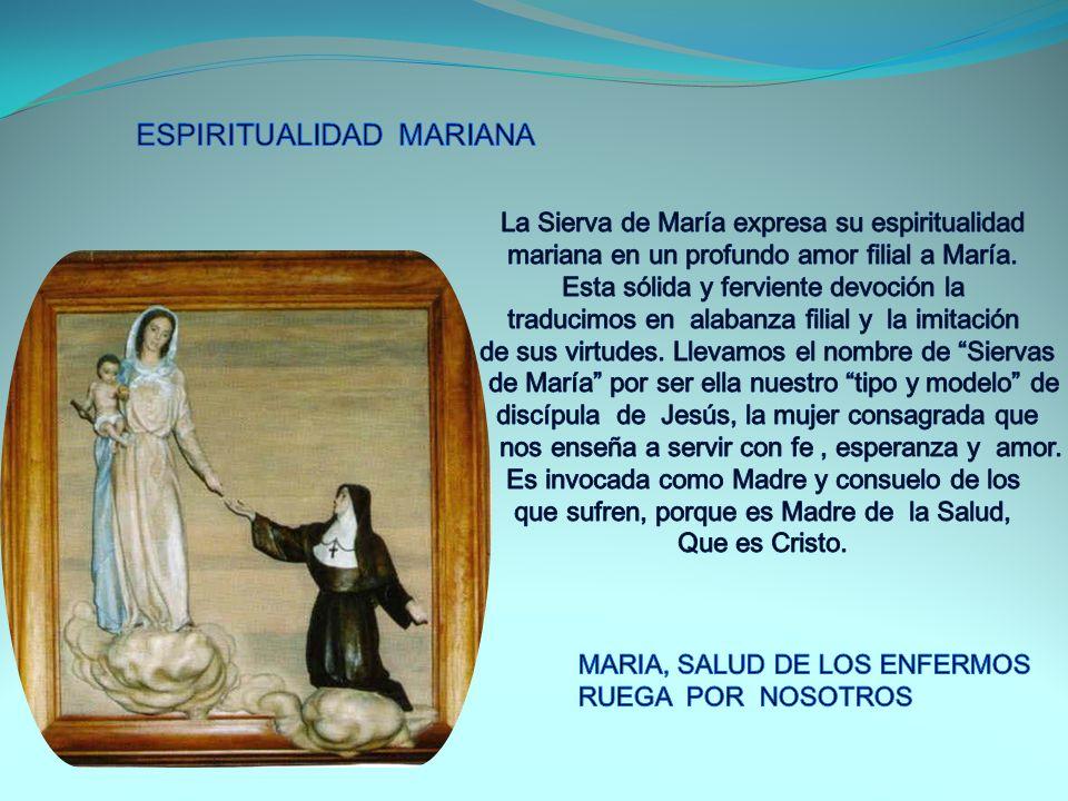 3- Cooperadoras con Cristo y María en la obra de la Salvación Ofreciendo nuestro propio vivir y el dolor de nuestros hermanos que sufren, unidas a Cristo en el sacerdocio bautismal.
