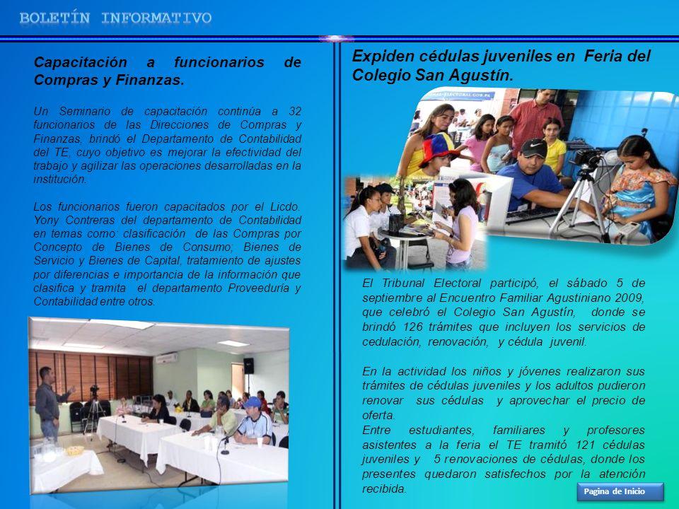 Pagina de Inicio Capacitación a funcionarios de Compras y Finanzas. Un Seminario de capacitación continúa a 32 funcionarios de las Direcciones de Comp