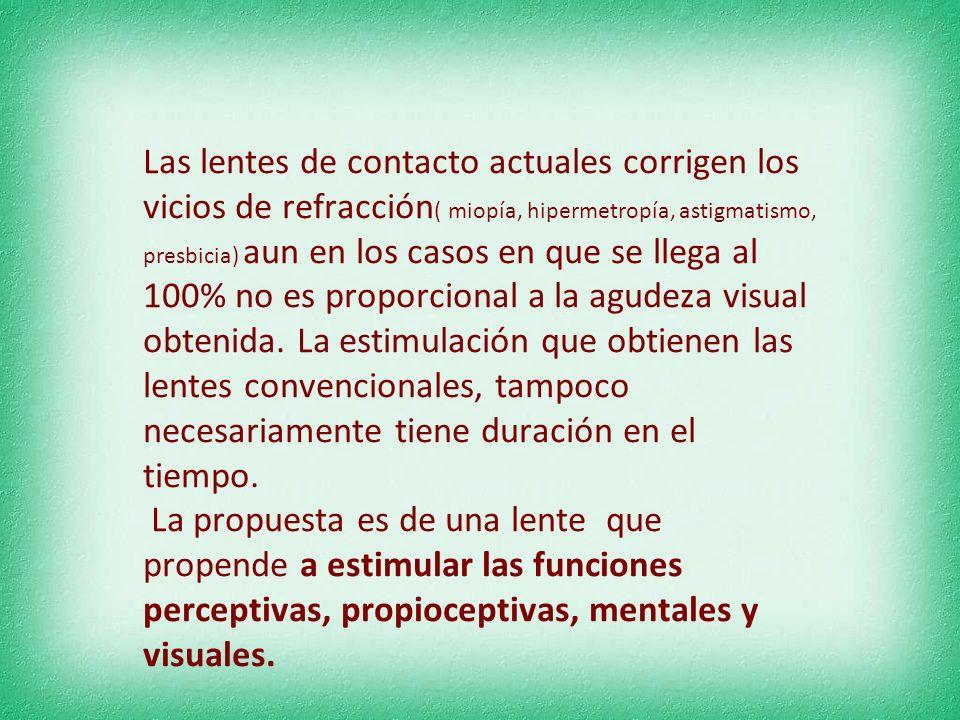 Lentes de contacto cromoterapéuticas visoemocionales para ser usada en el ámbito de la contactología ante los requerimientos de los profesionales de l