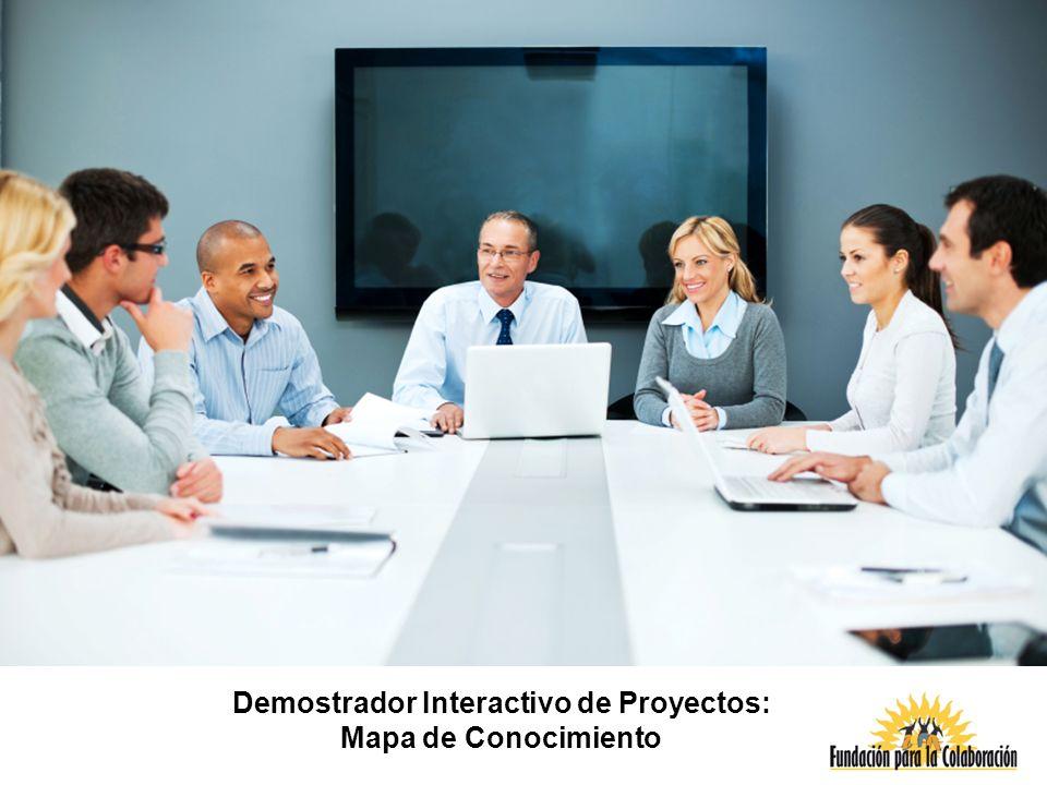 Demostrador Interactivo de Proyectos: Mapa de Conocimiento
