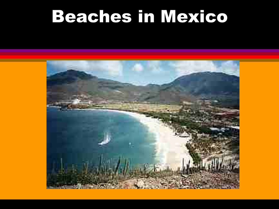 Beaches in Mexico