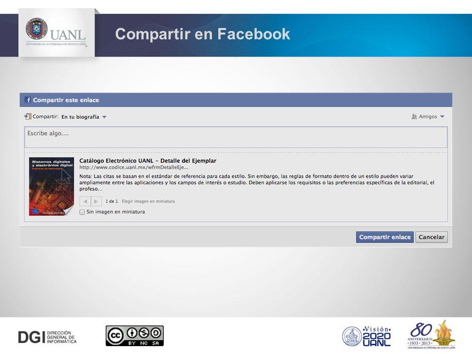 Compartir en Facebook