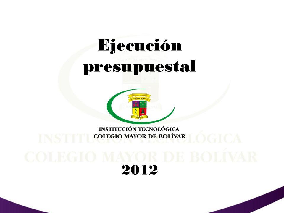PRESUPUESTO DE INGRESOS 2012