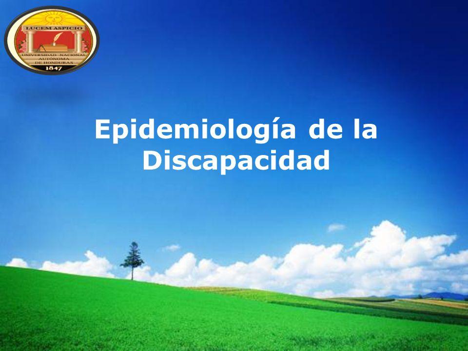 LOGO Epidemiología de la Discapacidad