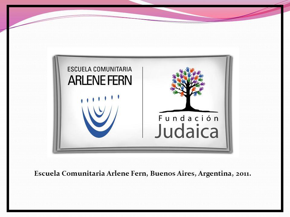 Escuela Comunitaria Arlene Fern, Buenos Aires, Argentina, 2011.