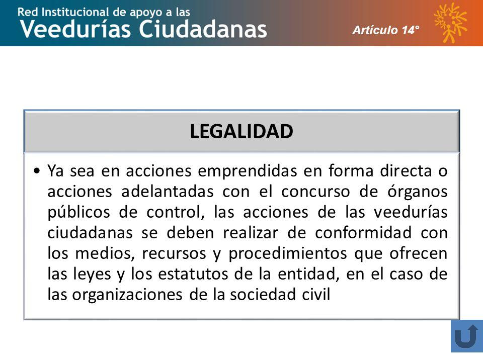 Artículo 14°