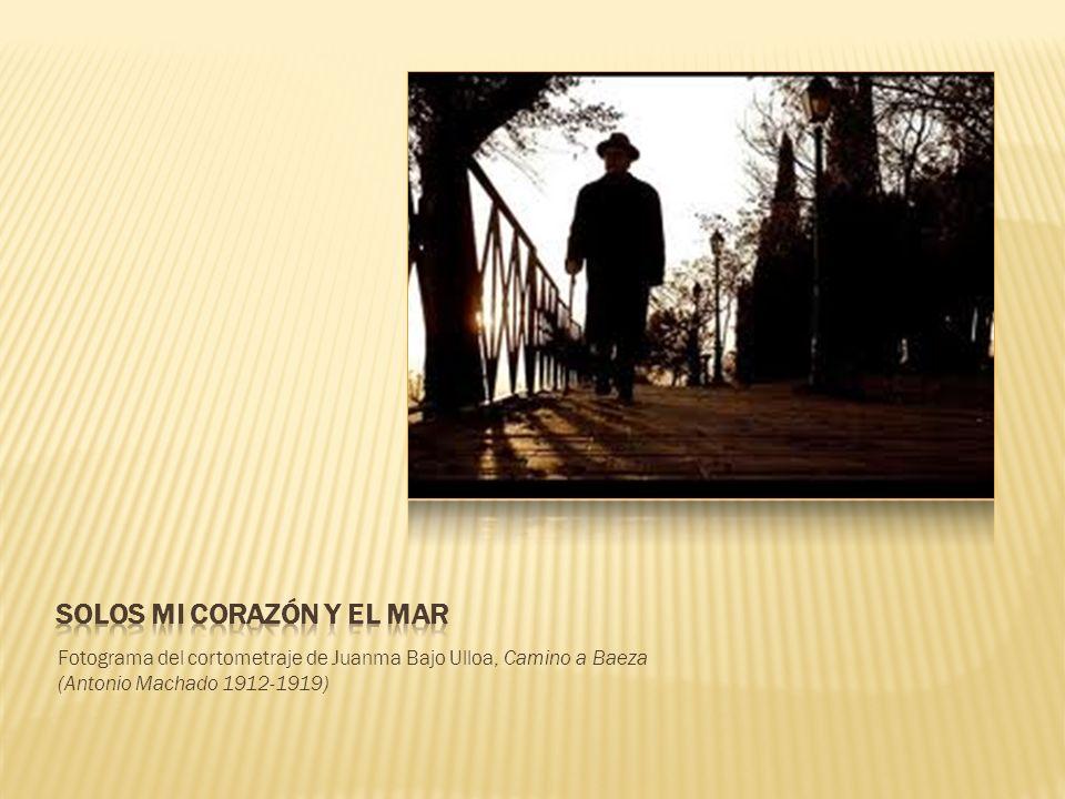 Fotograma del cortometraje de Juanma Bajo Ulloa, Camino a Baeza (Antonio Machado 1912-1919)