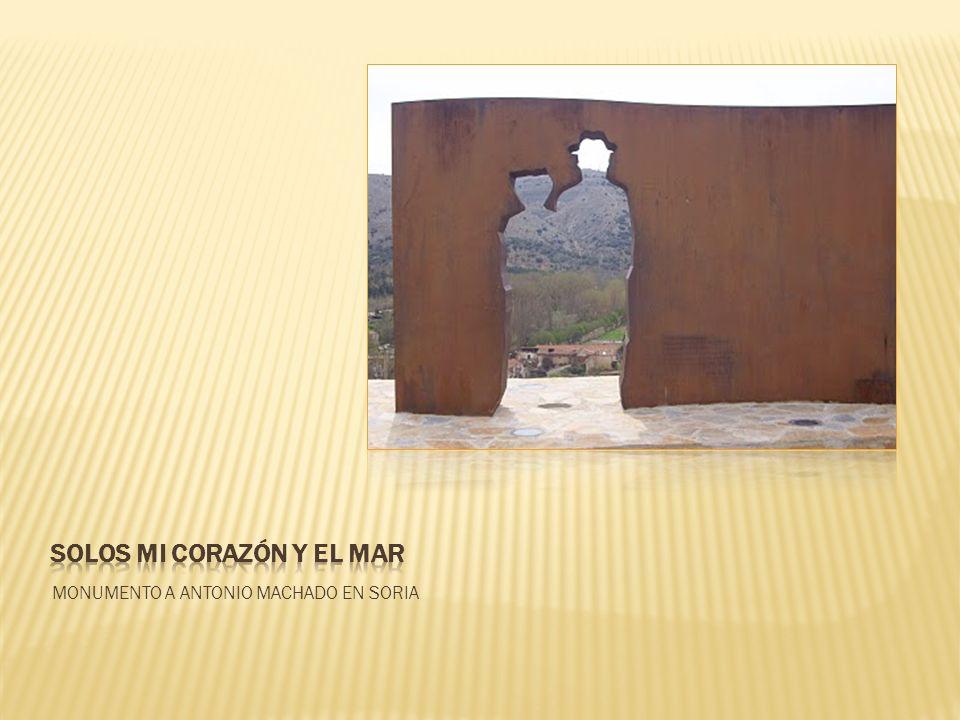 MONUMENTO A ANTONIO MACHADO EN SORIA