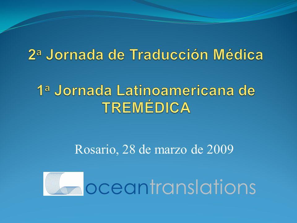 Rosario, 28 de marzo de 2009 oceantranslations