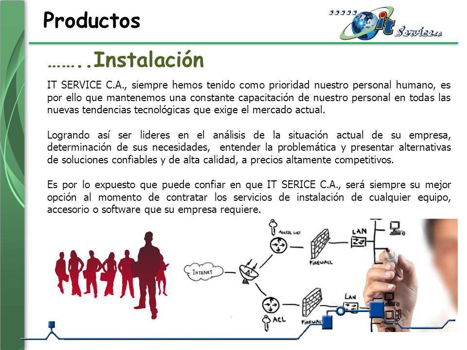 Productos IT SERVICE C.A., siempre hemos tenido como prioridad nuestro personal humano, es por ello que mantenemos una constante capacitación de nuest