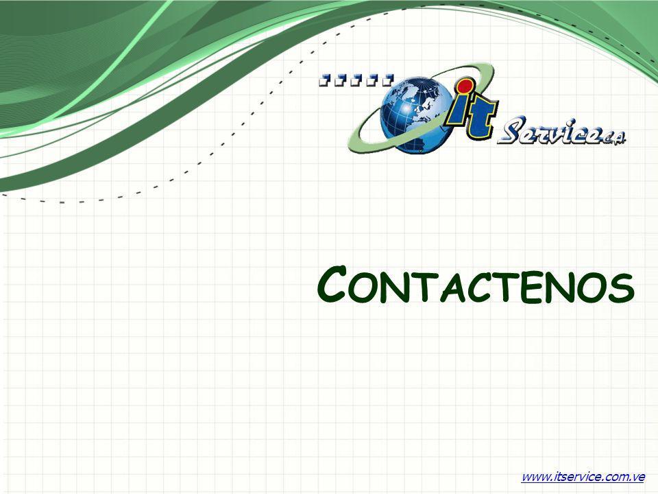 C ONTACTENOS www.itservice.com.ve