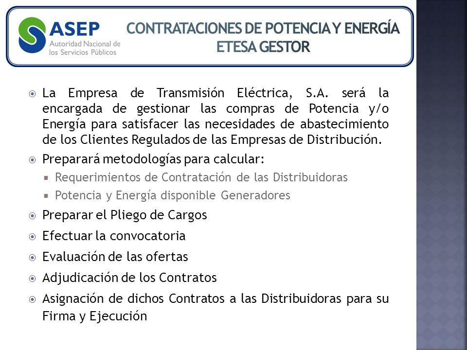 La Empresa de Transmisión Eléctrica, S.A.
