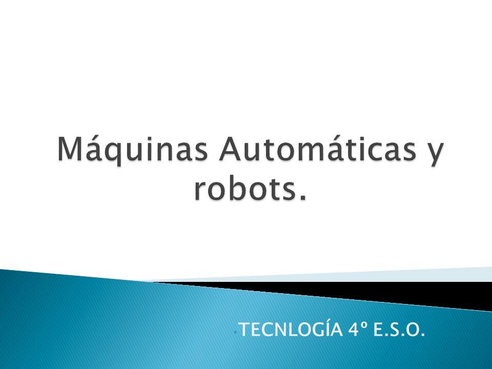 Robot controlado por ordenador: Estos robots se mueven mediante programas de ordenador que permiten alterar la secuencia de trabajo.