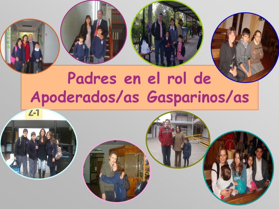 Padres en el rol de Apoderados/as Gasparinos/as