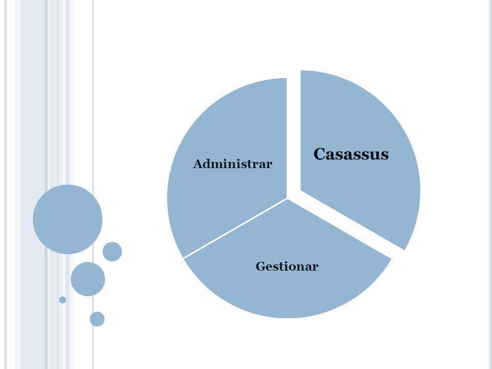 Casassus Gestionar Administrar