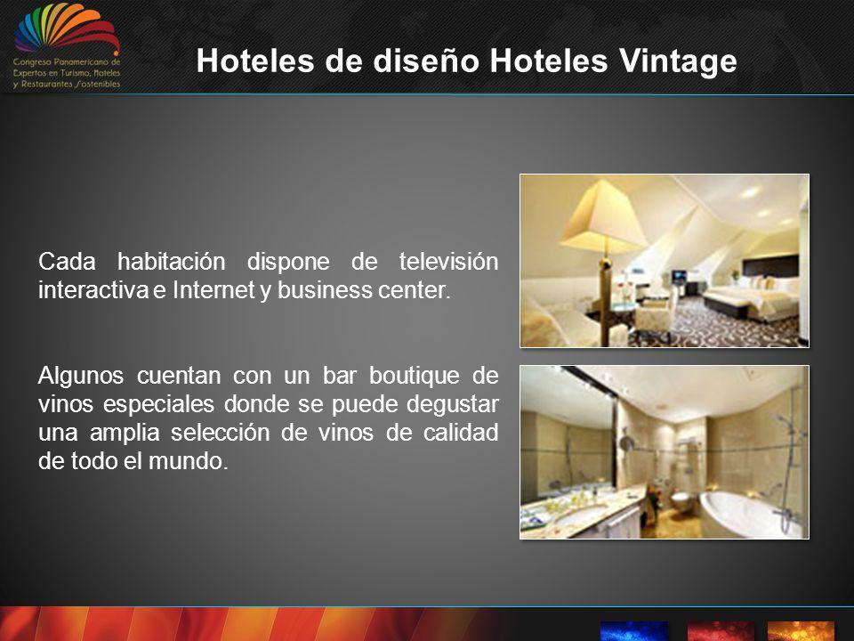 El estilo vintage que rescata objetos del pasado, objetos que tienen una historia, combinado con materiales y arquitectura actual Vintage es un hotel de diseño único, las habitaciones están decoradas con piezas de calidad de diseño del siglo pasado.