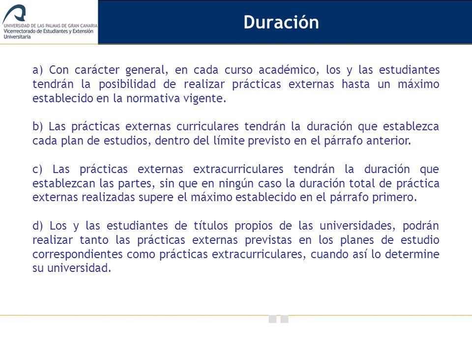 Vicerrectorado de Calidad e Innovación Educativa f) Colaborar con la universidad en todos aquellos aspectos relativos a la práctica, como puede ser cualquier tipo de incidencia que se produzca durante la misma, sugerencias de mejora, información sobre la evolución del estudiante, etc.