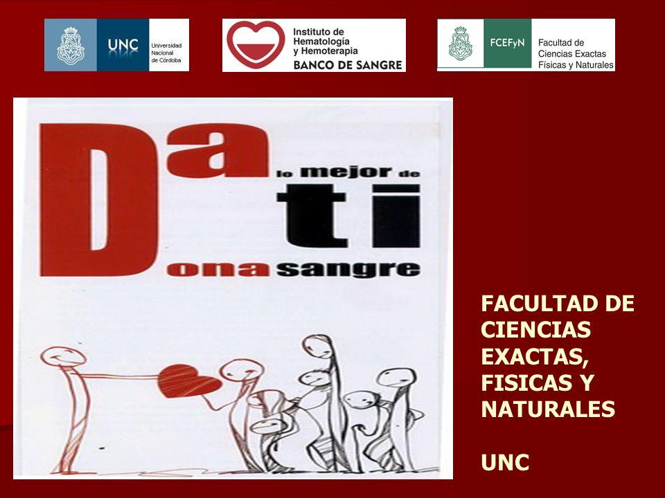 FACULTAD DE CIENCIAS EXACTAS, FISICAS Y NATURALES UNC