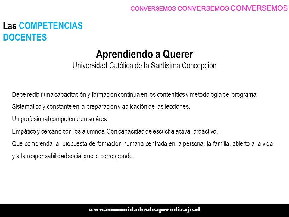 Las competencias a desarrollar en los docentes son: Comprender las principales estrategias para educar en sexualidad.