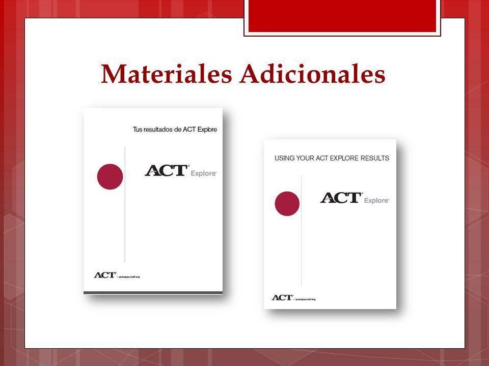 Materiales Adicionales