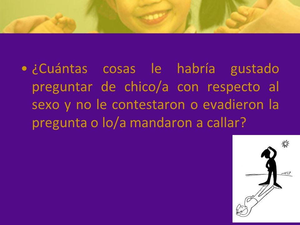BARRERAS COMUNICATIVAS Muchos padres se sienten incómodos al hablar de sexualidad con sus hijos.