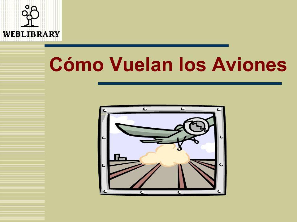 Está Volando El vuelo del avión se explica a través de: La Tercera Ley de Newton.