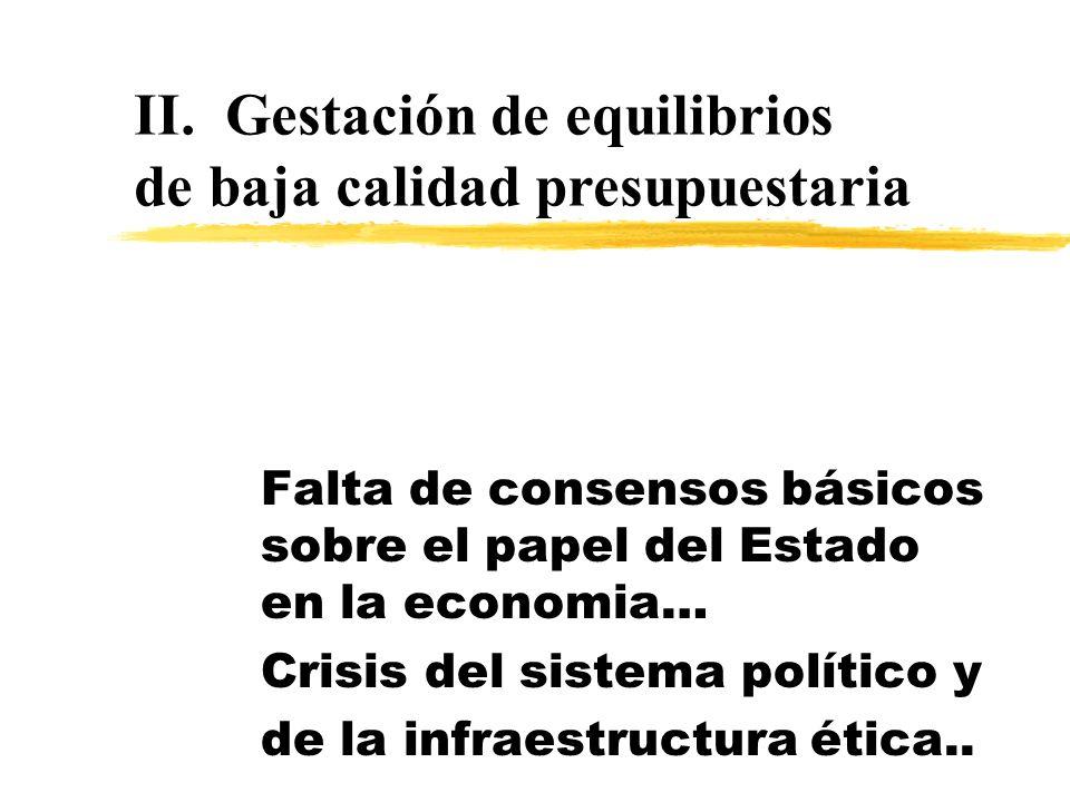 Pero esto último no es algo totalmente nuevo... zDespués de dos décadas de reformas fiscales -y no obstante algunos importantes logros- las finanzas p