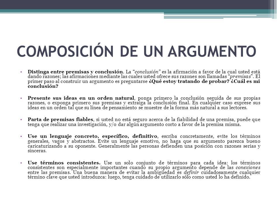 ARGUMENTOS MEDIANTE EJEMPLOS Los argumentos mediante ejemplos ofrecen uno o más ejemplos específicos en apoyo de una generalización.