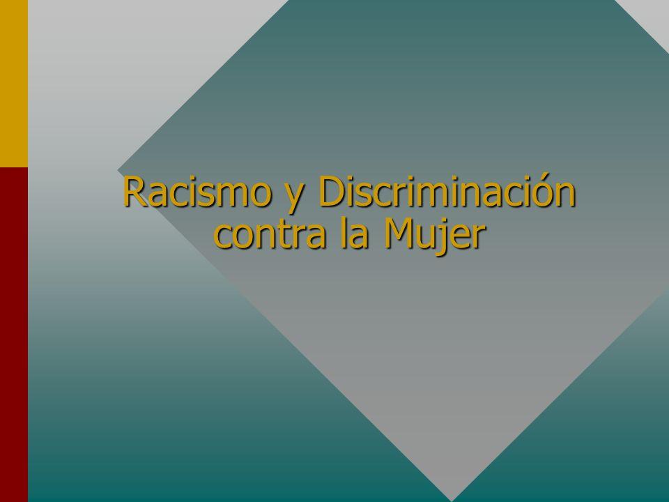 Racismo y Discriminación contra la Mujer
