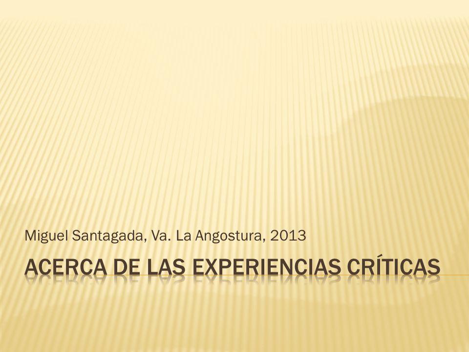 Miguel Santagada, Va. La Angostura, 2013