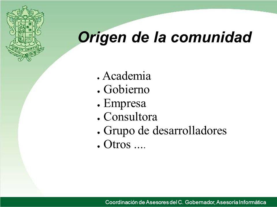 Coordinación de Asesores del C.