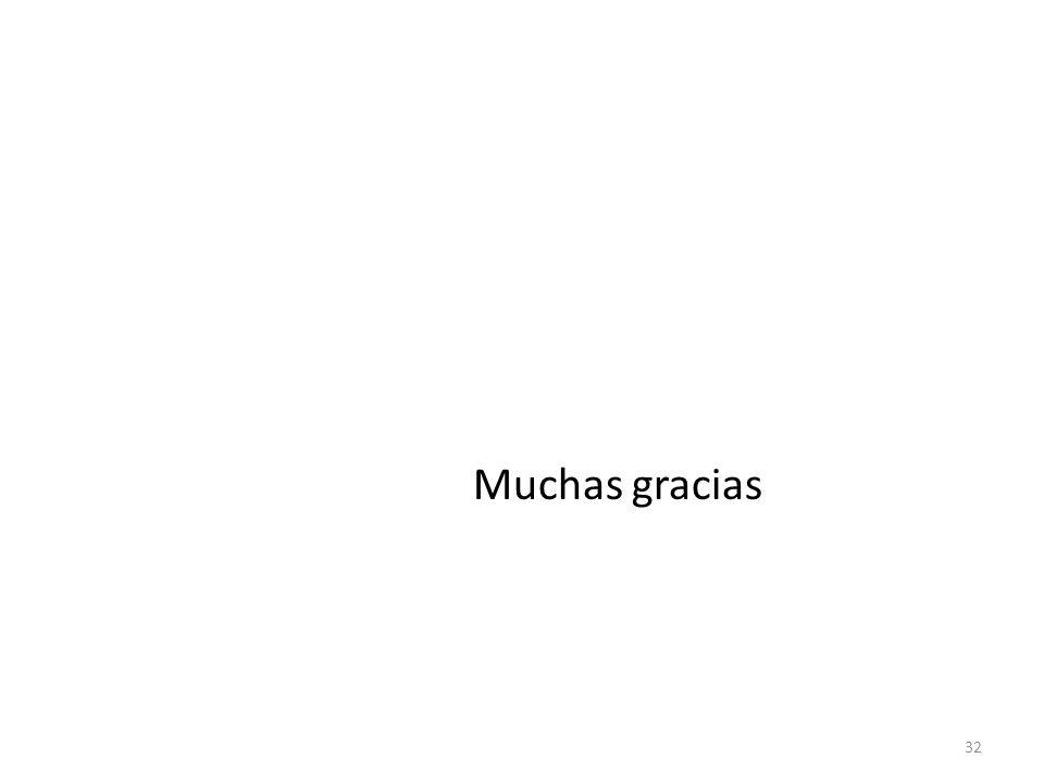 Muchas gracias 32