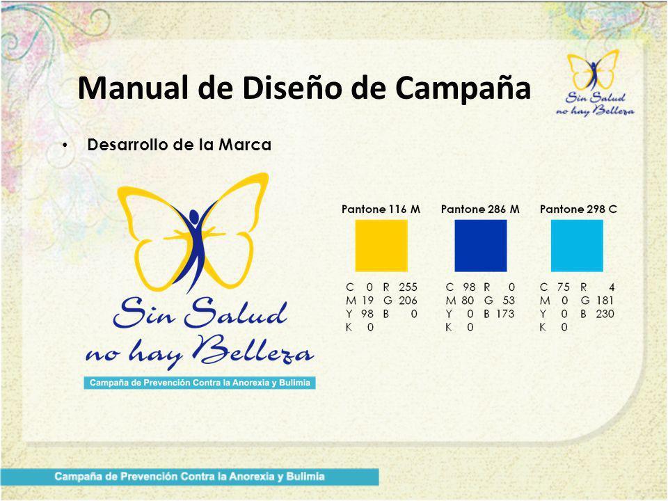 Manual de Diseño de Campaña Desarrollo de la Marca