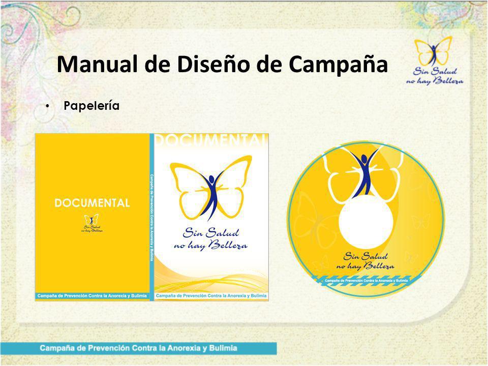 Manual de Diseño de Campaña Papelería
