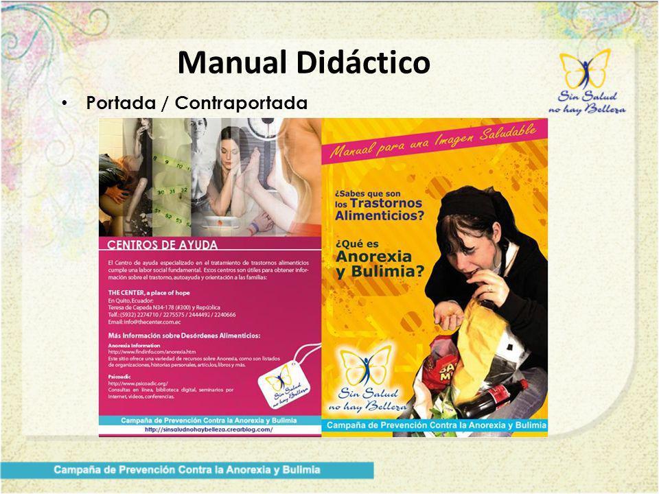 Manual Didáctico Portada / Contraportada