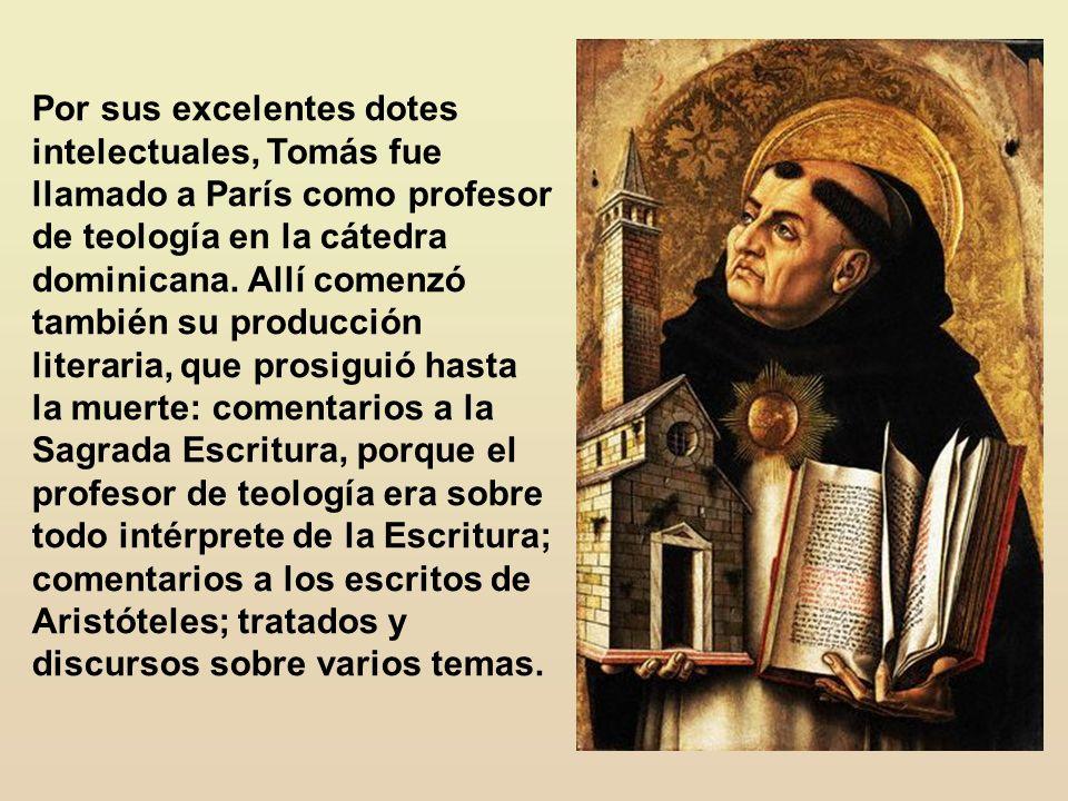 Tomás de Aquino mostró que entre fe cristiana y razón subsiste una armonía natural. Mostraba que lo que parecía razón incompatible con la fe no era ra