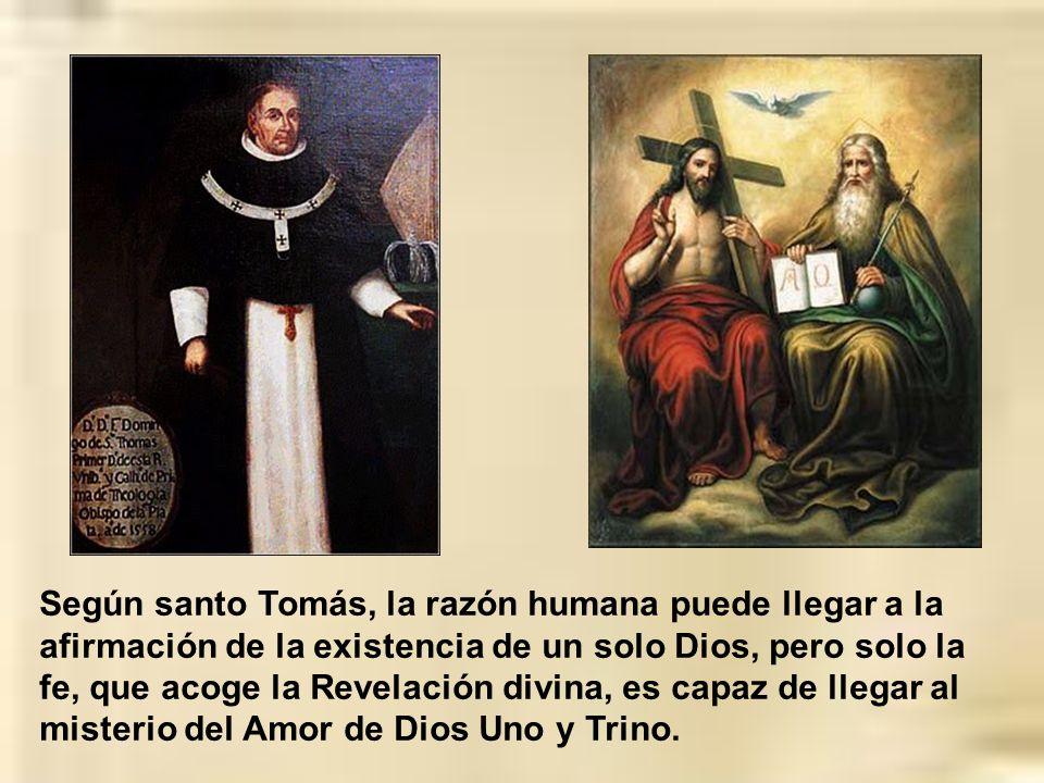 Tomás de Aquino logra la mejor síntesis medieval entre razón y fe o entre filosofía y teología. A diferencia de otros escolásticos, concede a la razón