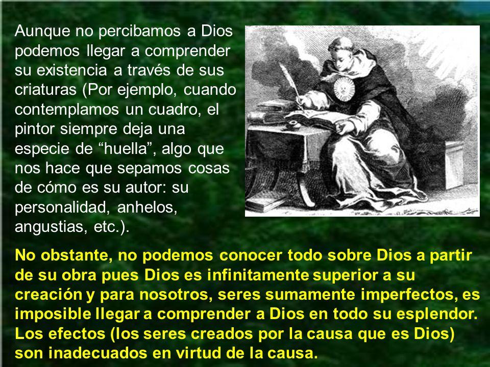 Según santo Tomás, la razón humana puede llegar a la afirmación de la existencia de un solo Dios, pero solo la fe, que acoge la Revelación divina, es