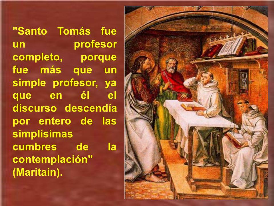 La profundidad del pensamiento de santo Tomás de Aquino brota de su fe viva y de su piedad fervorosa, que expresaba en oraciones inspiradas, como ésta
