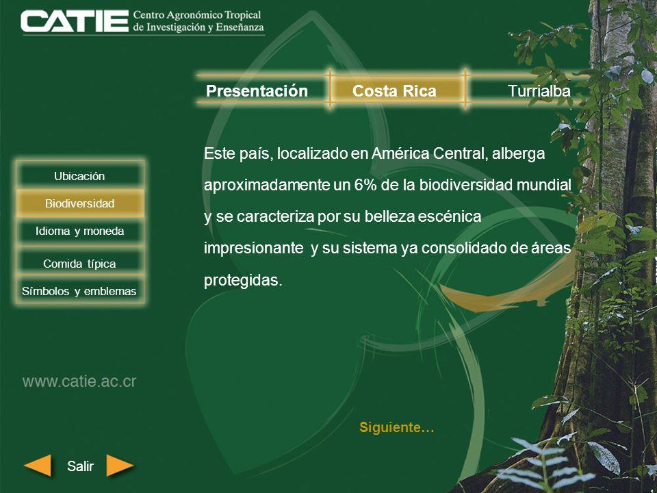 El aeropuerto más cercano a Turrialba es el Aeropuerto Internacional Juan Santamaría ubicado a dos horas del campus del CATIE (85 km).