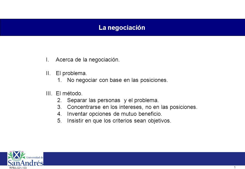0 La negociación Dra. Silvina Gvirtz Córdoba 20 de julio de 2011